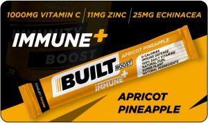 Built Boost Immune+ Apricot Pineapple