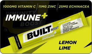 Built Boost Immune+ Lemon Lime