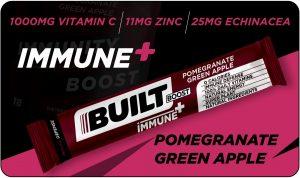 Built Boost Immune+ Pomegranate Green Apple