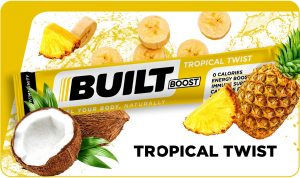 Built Boost Tropical Twist (Piña Colada)