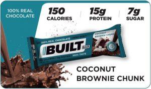 Built Bar Coconut Brownie Chunk