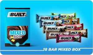 Built Bar 18 Bar Mixed Box - 9 flavors
