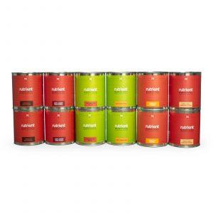 1 Month Bundle #10 Cans by Nutrient Survival