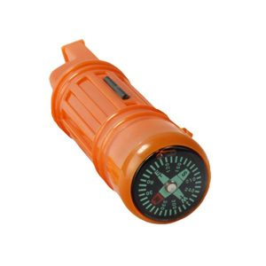 5-In-1 Survival Whistle Compass