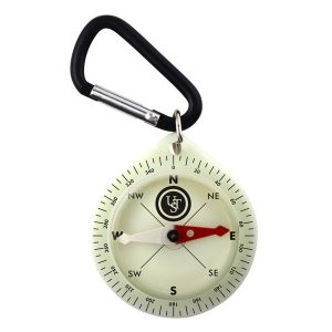 Pathfinder Glo Pocket Compass - Emergency Camping Gear