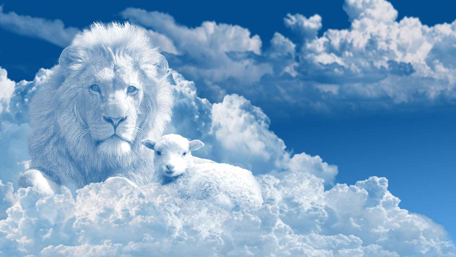 Jesus, Lion of the tribe of Judah, Lamb of God