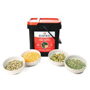 Vegetable Mix 120 Serving Emergency Food Bucket by ReadyWise