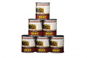 SurvivalCave Canned Meat Beef