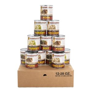 SurvivalCave Canned Meat Mixed