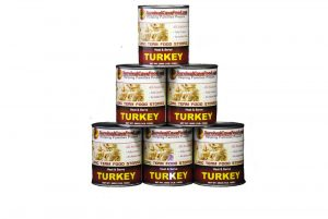 SurvivalCave Canned Meat Turkey