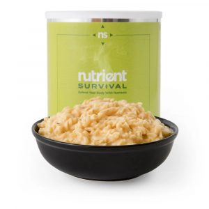 Triple Cheese Mac 10 Serving #10 Can by Nutrient Survival